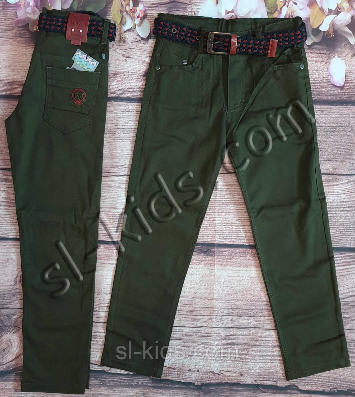 Яркие штаны, джинсы для мальчика 3-7 лет(хаки) розн пр.Турция