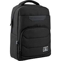Рюкзак GoPack Сity 144-2 чёрный