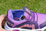 Стильные детские кроссовки Nike найк фиолетовые р31-35, копия, фото 3