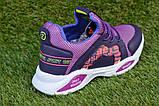 Стильные детские кроссовки Nike найк фиолетовые р31-35, копия, фото 4