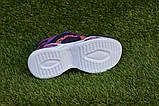 Стильные детские кроссовки Nike найк фиолетовые р31-35, копия, фото 5
