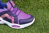 Стильные детские кроссовки Nike найк фиолетовые р31-35, копия, фото 6