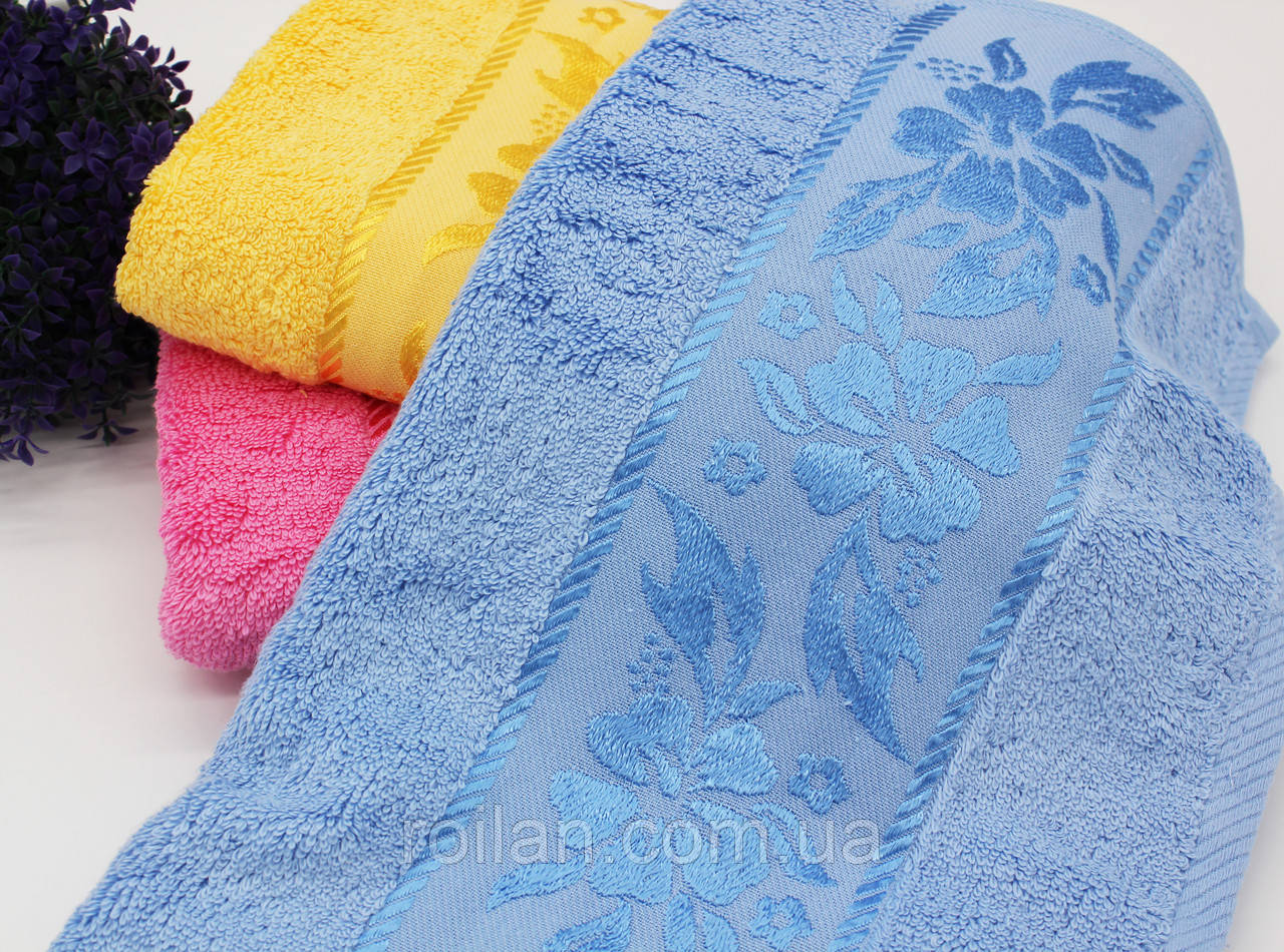 Банные турецкие полотенца Vip Колокольчик