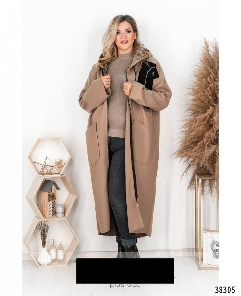 Пальто-кардиган размеры: 50-68