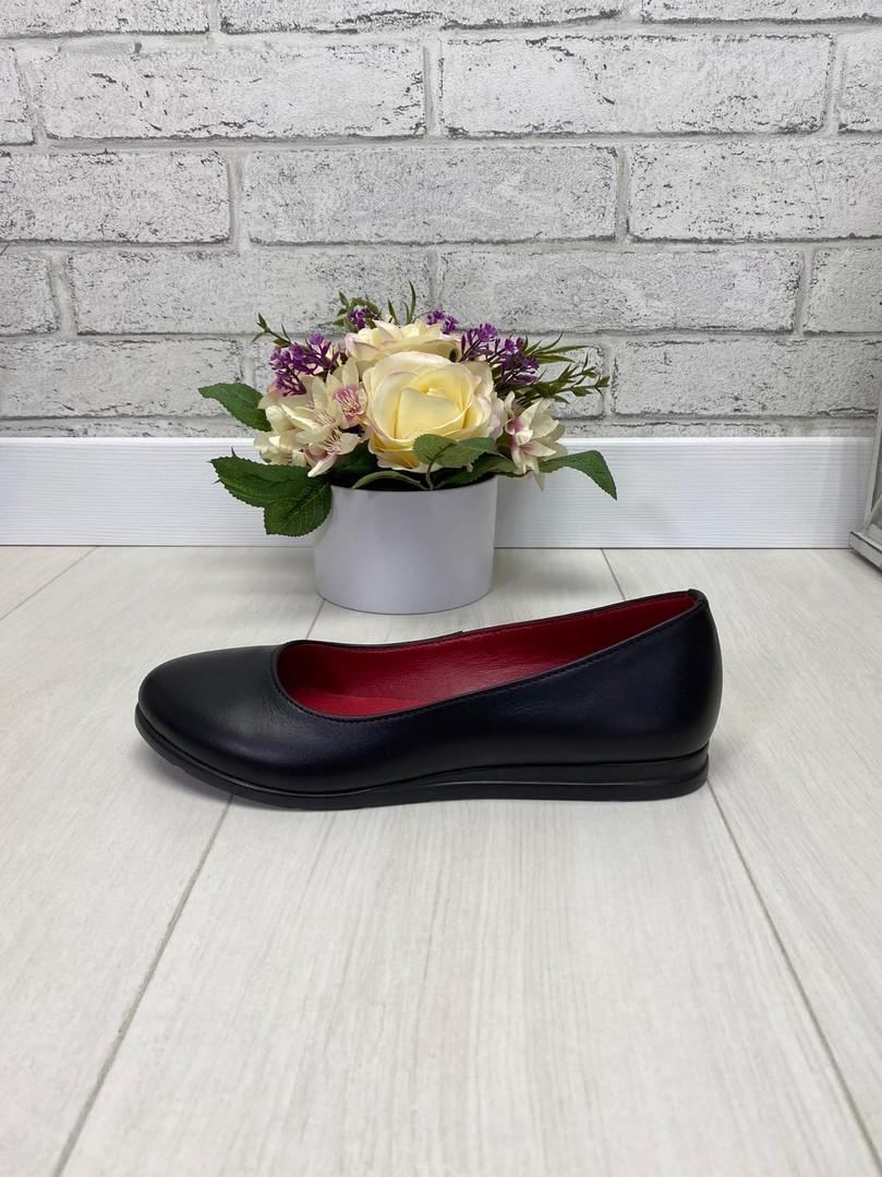 36 р. Туфли женские кожаные на низком ходу, из натуральной кожи, натуральная кожа