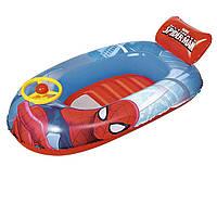 Надувная лодочка Bestway 98009 «Человек - паук», 112 х 71 см