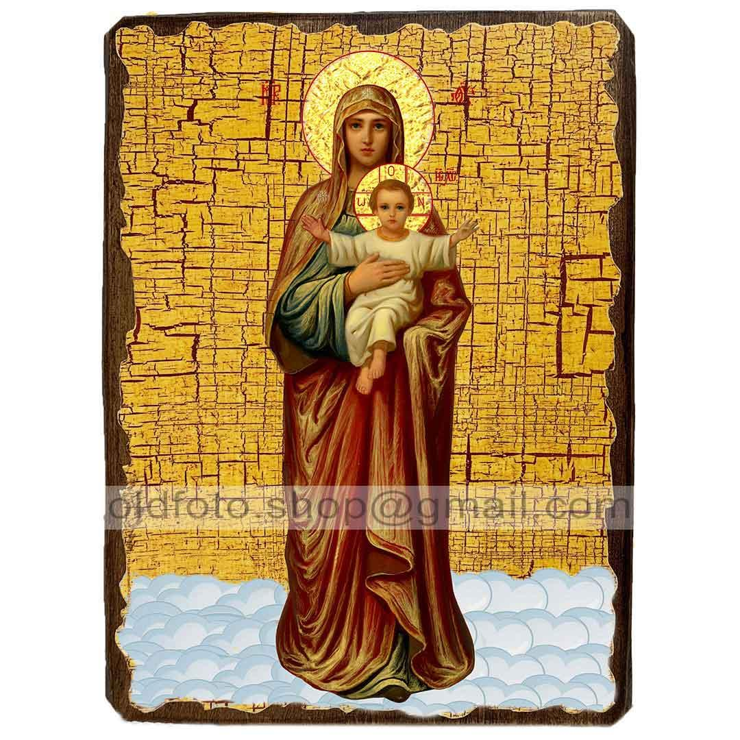 Благодатное Небо Икона Пресвятой Богородицы (130х170мм)