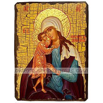 Взыскание Погибших Икона Пресвятой Богородицы ,икона на дереве 130х170 мм