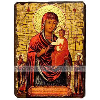 Икона Виленская Пресвятая Богородица ,икона на дереве 130х170 мм