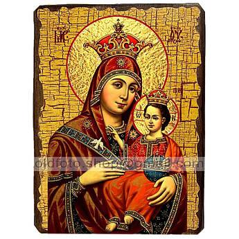 Икона Вифлеемская икона Пресвятой Богородицы ,икона на дереве 130х170 мм