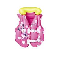 Детский надувной жилет Bestway 91070 «Минни Маус», 51 x 46 см