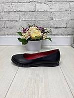 39 р. Туфли женские кожаные на низком ходу, из натуральной кожи, натуральная кожа, фото 1