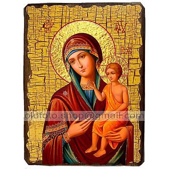 Воспитание Икона Пресвятой Богородицы ,икона на дереве 130х170 мм