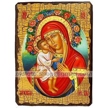 Жировицкая Икона Пресвятая Богородица  ,икона на дереве 130х170 мм