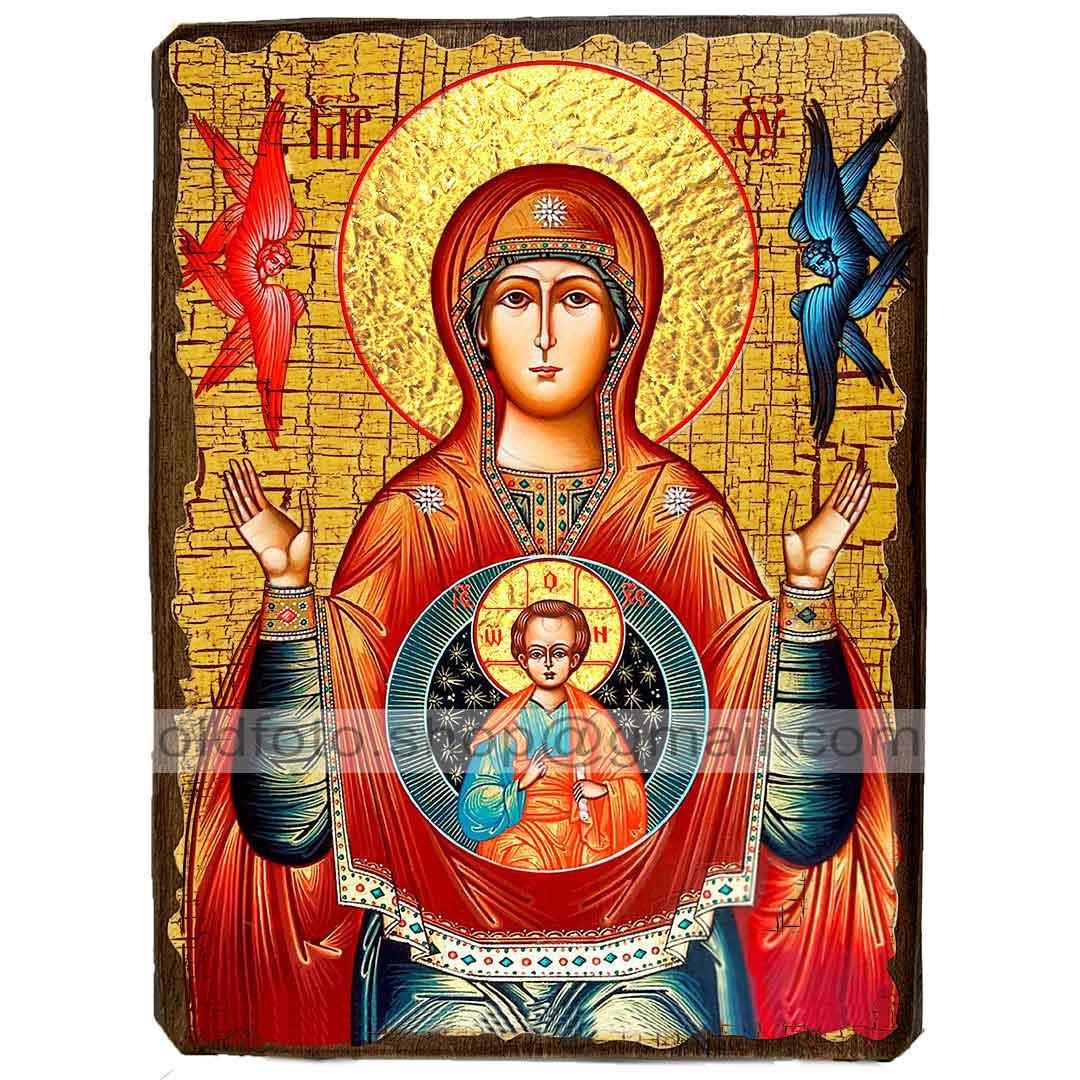 Знамення Ікона Пресвятої Богородиці (130х170мм)