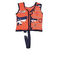 Детский жилет Bestway 32177, S (3 - 6) 18 - 30 кг, оранжевый
