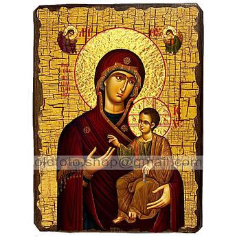 Иверская Икона Пресвятой Богородицы ,икона на дереве 130х170 мм