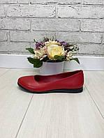 40 р. Туфли женские кожаные на низком ходу, из натуральной кожи, натуральная кожа, фото 1