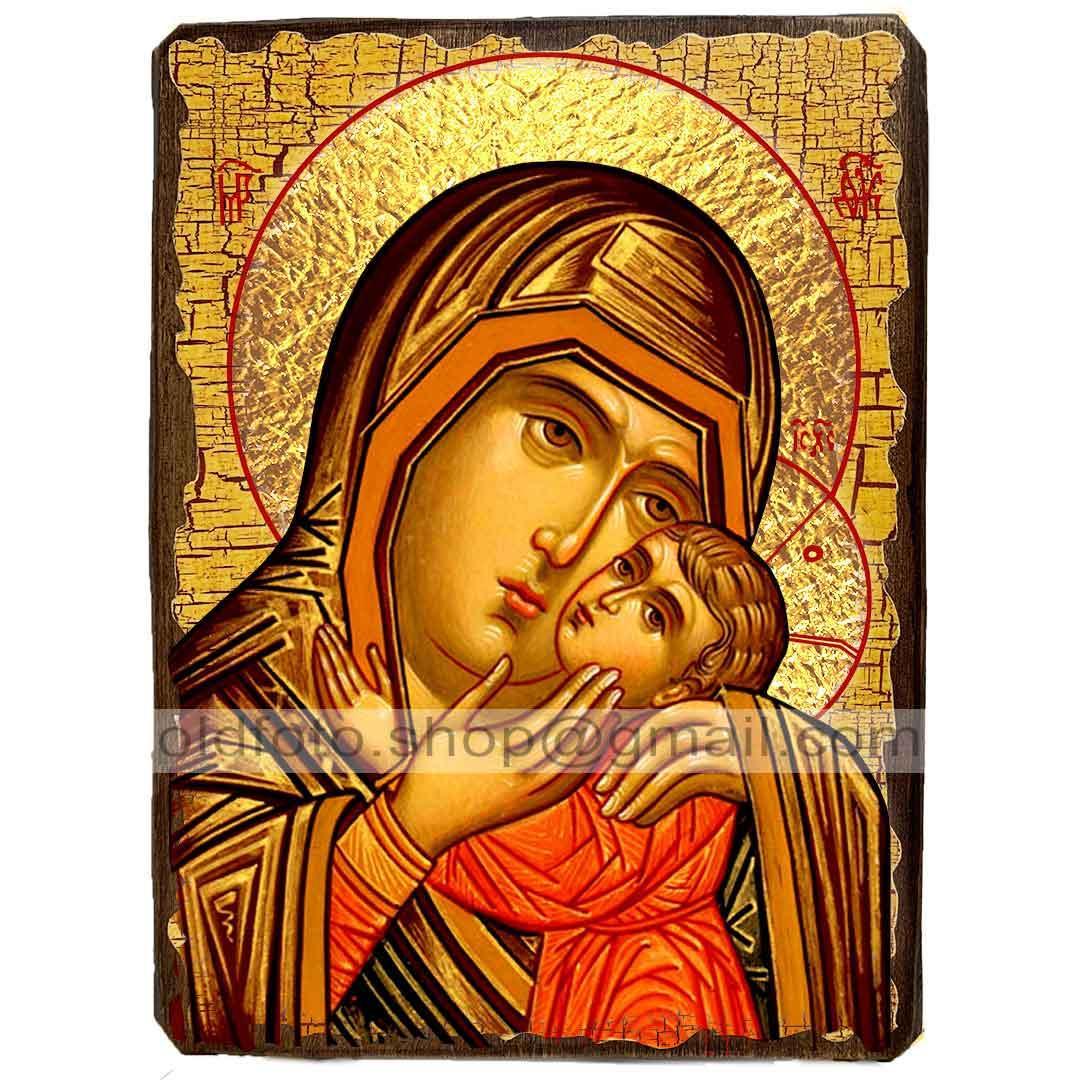 Спасительница Утопающих Икона Пресвятой Богородицы ,икона на дереве 130х170 мм