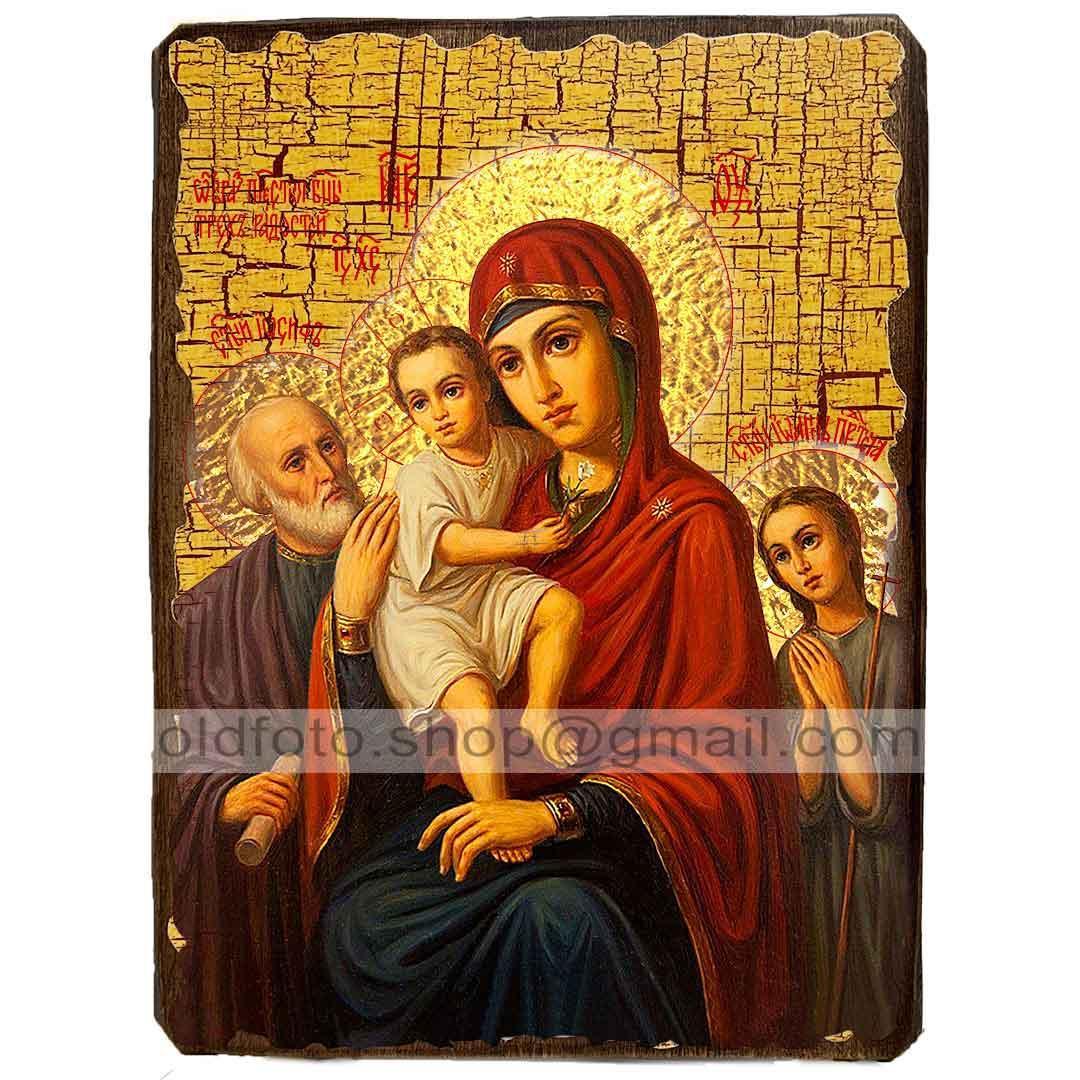 Икона Богородицы «Трех Радостей» (130х170мм)