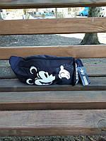 Женская поясная сумка, бананка adidas originals Mickey Black