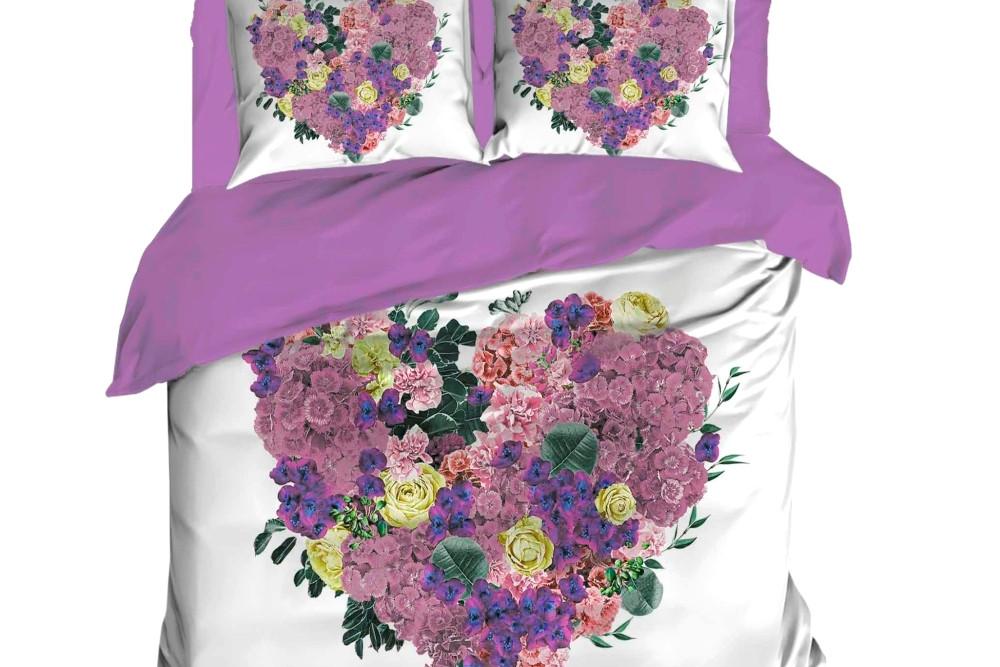 Постельное белье 2-спальное евро LIGHTHOUSE Violette