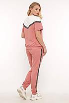 Стильный женский костюм большого размера 50-58, фото 3