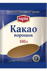 """Какао порошок 100г ТМ """"Мрія"""""""