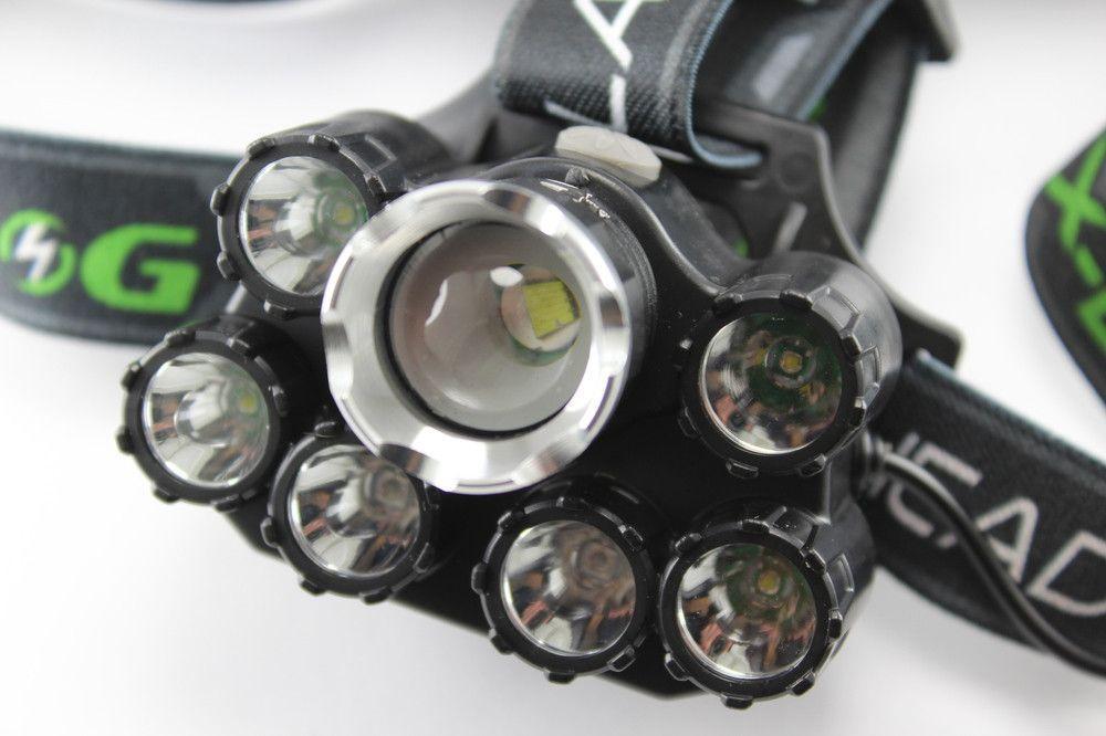 Мощный налобный LED фонарь Bailong T76-T6 XPE