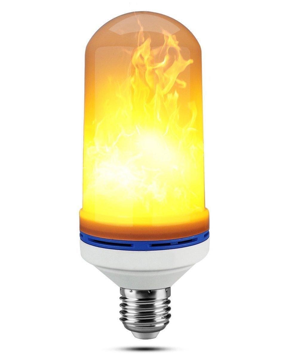 Светодиодная лампа с иммитацией пламени огня Flame Bulb А+ E27