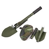 Военная складная лопата SHOVEL 5 в 1
