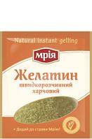 """Желатин пищевой быстрорастворимый 25г ТМ """"Мрія"""""""