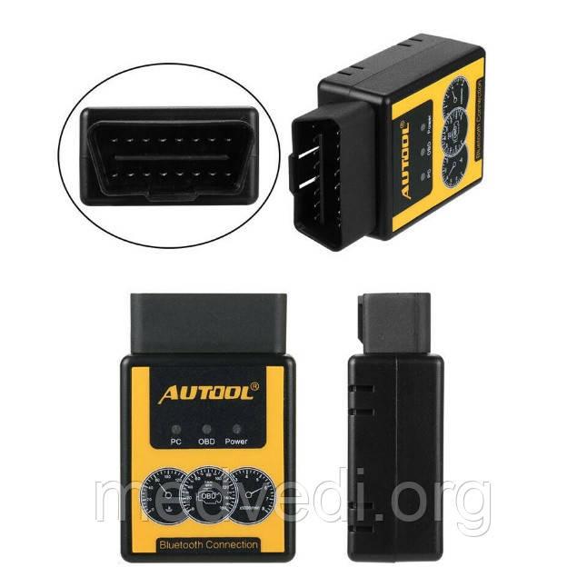 Elm327 V1.5 AUTOOL Bluetooth PIC18F25K80 діагностичний сканер OBD2