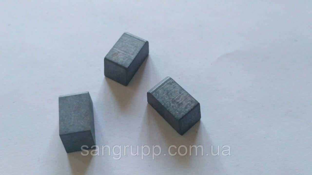 Пластина напайная 13371 ВК8, Т5К10, Т15К6