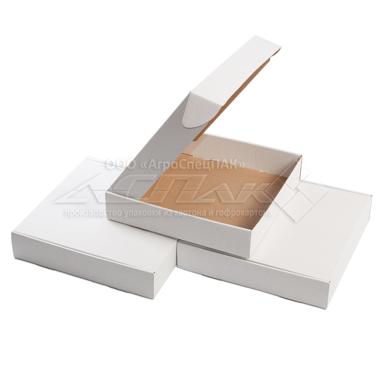 Картонные коробки 200*200*41белые