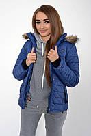 Куртка женская 123R5501 цвет Синий 1140744828
