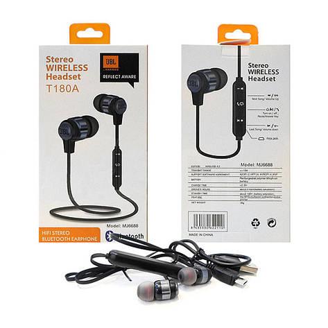 Беспроводные Bluetooth наушники MDR T180A, фото 2