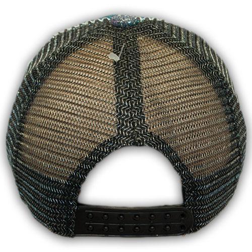 Бейсболки с сеткой и ниткой люрекс для девочки