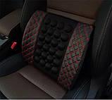 Автомобильная электрическая массажная подушка , фото 3