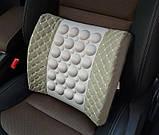 Автомобильная электрическая массажная подушка , фото 4
