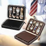 Органайзер для хранения часов  JOCESTYLE -bit watch zipper bag до 8 часов цвет черный, фото 6