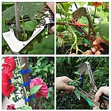 Садовый ленточный инструмент для подвязывания растений и деревьев Tapetool  tapener, фото 7