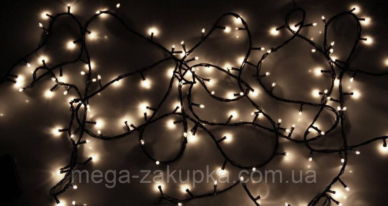 Новогодняя светодиодная уличная гирлянда