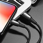 [ОПТ] Кабель синхронизации Hoco X39 Titan charging micro USB 2.4А 1м для зарядки и передачи данных, фото 8