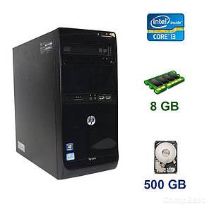 HP Pro 3400 Tower / Intel Core i3-2120 (2 (4) ядра по 3.3 GHz) / 8 GB DDR3 / 500 GB HDD / 300W / DVD-RW, фото 2