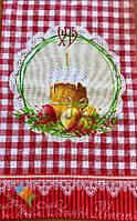 Пасхальне Великодній Рушник Серветка Бавовняний Великодній Рушник Tirotex 4 Кольори 4 Шт В Упаковці Розмір 71 х 45 См
