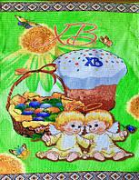 Пасхальне Великодній Рушник Серветка Бавовняний Великодній Рушник Tirotex 4 Шт В Упаковці Розмір 57 х 45 См