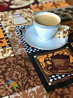 Рушник Кухонне Бавовняне Кухонне Рушник Coffe 3 Шт В Упаковці Розмір 66х45 см