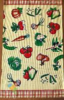 Рушник Кухонне Бавовняне Кухонне Рушник З Малюнком 3 Шт В Упаковці Розмір 70х43 см