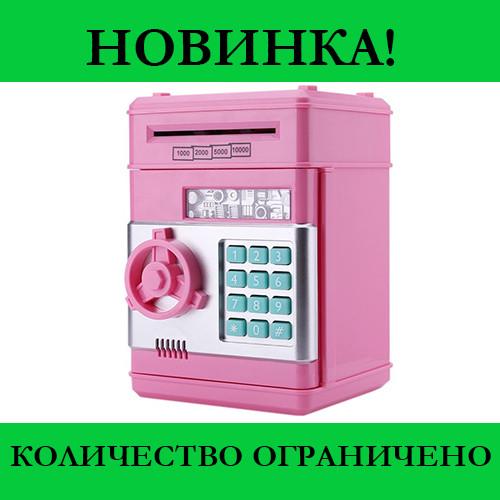 Копилка сейф с кодовым замком и купюроприемником  Piggy Bank SAFE